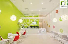 Small Ice Cream Shop Interior Design Decorating Cool Interior Design Of An Ice Cream Shop With