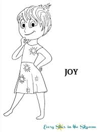 Small Picture Inside Out Joy coloring page Every Star in the Sky