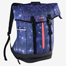 lebron bag. nike lebron ambassador backpack blue legend-black / hot lava james model lebron bag p