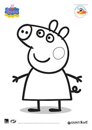Adesso voglio condividere questa esperienza con i vostri bambini. Disegni Da Colorare Di Peppa Pig Filastrocche It