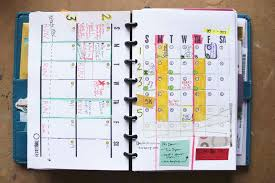 ... month and double week diy planner template in use, Ahhh Design ...