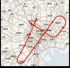 ブルー インパルス 東京 ルート