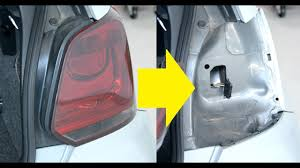 Volkswagen Car With Screw Light How To Change The Rear Bulb On A Vw Polo 6r