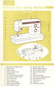 Kenmore 100 Stitch Sewing Machine Manual