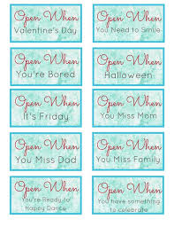 Open When Letters Long Distance Relationship Card Christmas Etsy