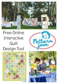 Pattern Jam - Easy Quilt Design Tool - Diary of a Quilter - a ... & Pattern Jam Quilt Design Tool collage Adamdwight.com