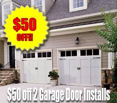 garage door 16x850 Off a 2 car garage 16x8 16x7  Oswego IL Garage Doors And
