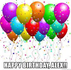 Image result for Happy Birthday alex