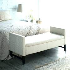 white end of bed bench large size storage ottoman for beautiful furniture foot diy bedroom upholstered benches