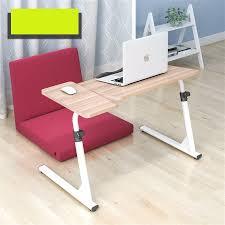 simple bedside laptop desk folding lazy sofa table learning desk