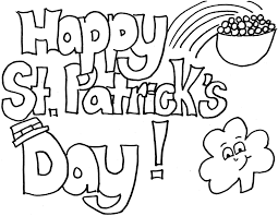 Small Picture Stunning Saint Patricks Day Coloring Pages Photos New Printable
