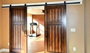 custom interior barn doors sliding traditional inside door hardware closet set barnwood stainless track system modern