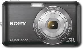 sony cybershot camera 12 1 megapixel. sony - cyber-shot 12.1-megapixel digital camera black cybershot 12 1 megapixel z