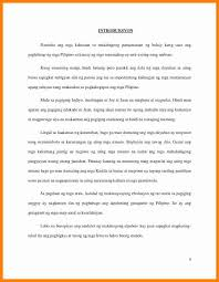 8 Research Paper Tagalog Sample Buyer Resume Autobiography Example