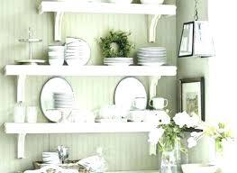 white kitchen shelves shabby chic wall with hooks gloss ikea white kitchen shelves