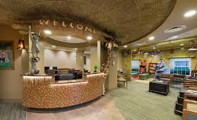 dental office reception. Savannah Safari Adventure - Themed Dental Office Photos | Imagination Solutions Reception