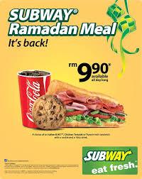 subway menu 2013. Wonderful Menu Subway Ramadhan Meal Promotion 2013 RM990 Sandwich Inside Menu 2013 G