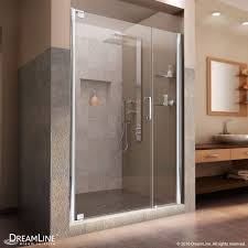 medium size of door design elegance shower door with shelves frameless pivot dreamline to in
