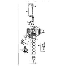 kohler kohler engine parts model cv20s65527 sears partsdirect crankcase