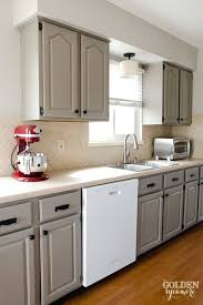 diy white kitchen remodel on a budget kitchen update on a budget from the golden