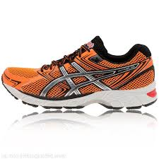 orange asics gel equation 7 running mens running shoes cushioned neutral road