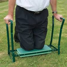 folding garden kneeler seat