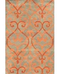 orange and gray rug orange and grey area rugs shining design gray rug excellent decoration light