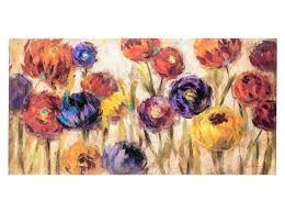 from hobby lobby colorful flower canvas wall art