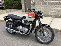 new 2017 triumph bonneville t100 motorcycles in enfield ct
