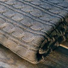 cable knit duvet cover sculptured woven cable knit throw blanket cable knit bedding set queen