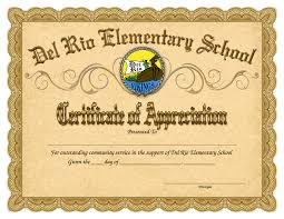 Awesome Sample Of Award Certificate Of Appreciation Template For