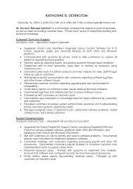 Customer Sample Customer Service Manager Resume