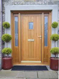 Amazing Oak Exterior Doors And Frames  For Your With Oak - Hardwood exterior doors and frames
