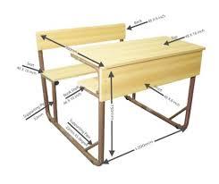 dual furniture. Dual Desk With Seat \u0026 Back Desk, Education Furniture, Everyone, School Furniture