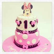 Minnie Mouse Cake Girls Birthday Cakes Decorated Cakes