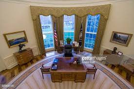 oval office photos. An Intererior View Of The Oval Office When Empty At White House During George Photos