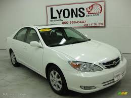 2004 Crystal White Toyota Camry Limited Edition #32025227 Photo ...