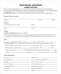 Hdb Tenancy Agreement Template Word Document - Mesotraining.com