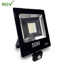 pir motion sensor led floodlight 10w 30w 50w 230v 110v induction spotlight flood light outdoor path