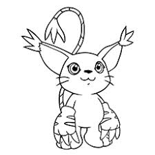 Small Picture 10 Lovely Free Printable Digimon Coloring Pages Online