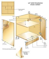 kitchen cabinet plans. Building Base Cabinets Part 3 Throughout How To Build A Cabinet Plans 6 Kitchen