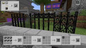 minecraft fence crafting. Brilliant Fence Fences In Minecraft Fence Crafting A