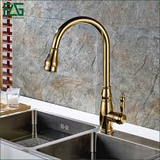 Copper Kitchen Sink Faucet Popular Polished Copper Kitchen Faucets Buy Cheap Polished Copper