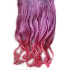 Light Pink Extensions Buy Jovana Ombre Dip Dye Color New Two Tone Gradually Varied