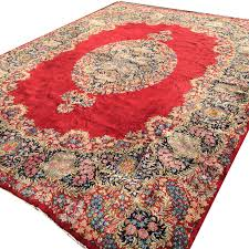 14942 kerman ravar lavar persian rug 13 5 x 10 ft 405 x 315 cm red