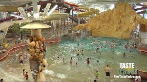 the largest indoor water park kalahari resort wisconsin dells you