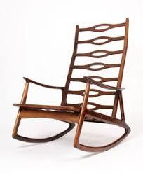 modern wooden rocking chair. high back danish modern rocking chair wooden e