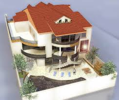 Merveilleux Excellent Dessiner Une Maison En D With Dessin Maison 3d  Grandes Images