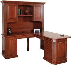 series corner desk. Buckingham Series Corner Desk And Hutch (Sold Separately) Shown In Cherry With OCS Washington E