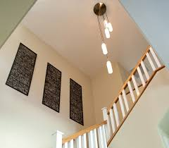 stair lighting arts and crafts staircase
